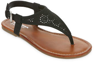 Arizona Womens Sutton Adjustable Strap Flat Sandals