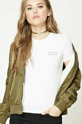 Forever 21 Live For Music Graphic Tee