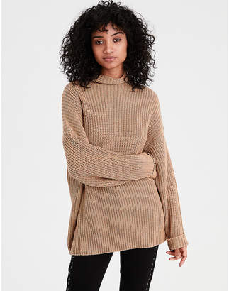 American Eagle AE Slouchy Turtleneck Sweater