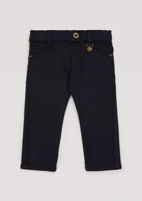 Armani Junior Trousers With Heart Charm
