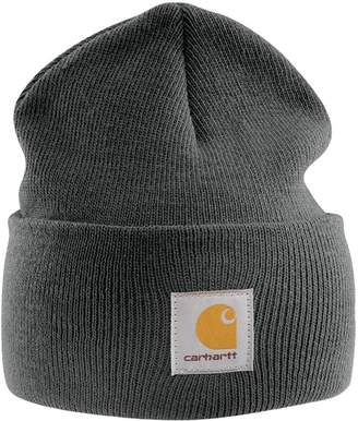 Carhartt Acrylic Watch Cap - Charcoal Branded Beanie Ski Hat