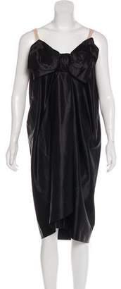 Lanvin Bow-Accented Midi Dress