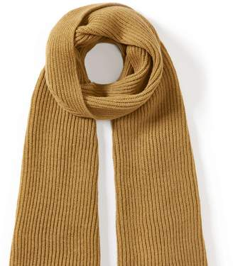 Peregrine Porter Ribbed Scarf Wheat