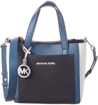 MICHAEL Michael Kors Gemma Small Pocket Leather Messenger Bag