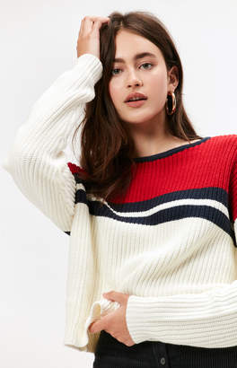 KENDALL + KYLIE Kendall & Kylie Colorblocked Sweater