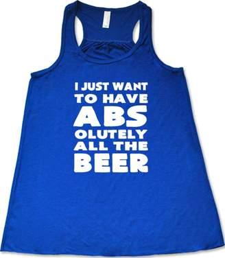 ABS by Allen Schwartz Constantly Varied Gear Constantly Varied Women's I Just Want Olutely All The Beer Tank M