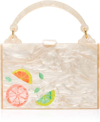Edie Parker Large Inlay Housewife Bag