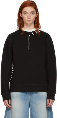 Craig Green Black Laced Sweatshirt