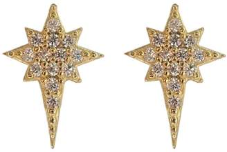 Wild Hearts - Ice Pick Ear Studs in Gold