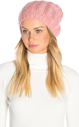 Hat Attack Rib Slouchy Beret $50 thestylecure.com