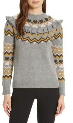 Ted Baker Mysheli Fair Isle Sweater