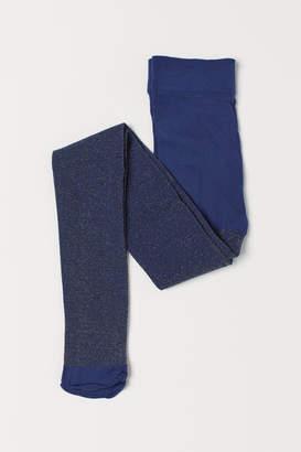 H&M Glittery tights