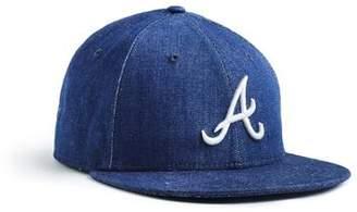 Todd Snyder + New Era + NEW ERA MLB ATLANTA BRAVES CAP IN CONE DENIM