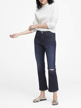 Banana Republic Mid-Rise Crop Flare Jean
