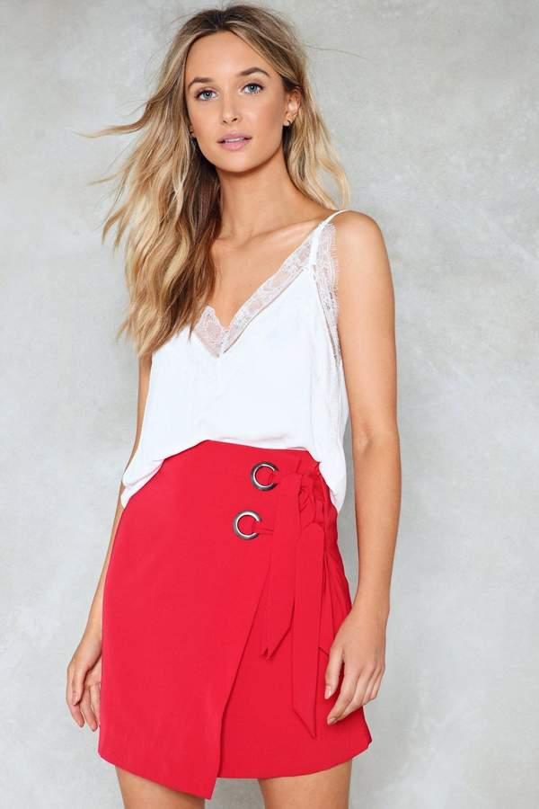 nastygal Promise Ring Mini Skirt