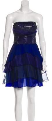 Doo.Ri Strapless Mini Dress