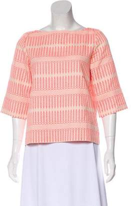 Ralph Lauren Moffat Woven Long Sleeve Top
