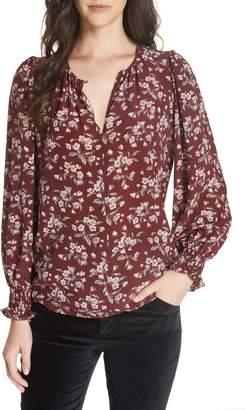 Rebecca Taylor Tilda Silk Floral Top