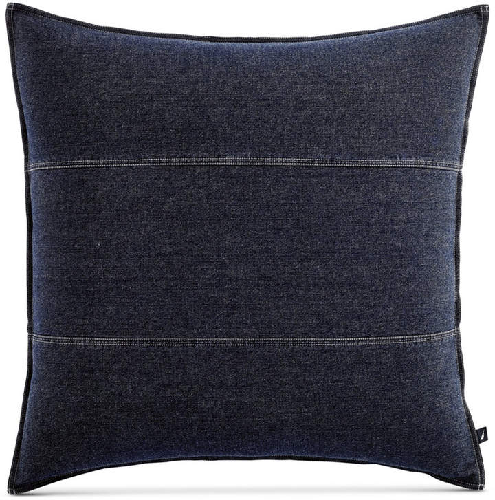 Closeout! Seaward Reversible Denim European Sham Bedding