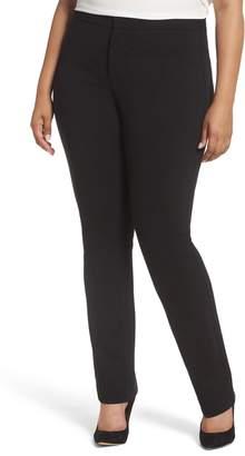 NYDJ Stretch Knit Straight Leg Trousers