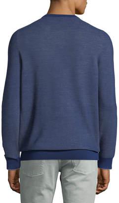 Loro Piana Lightweight Wool-Blend Crewneck Sweater