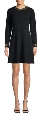 MICHAEL Michael Kors Embellished Fit-&-Flare Dress