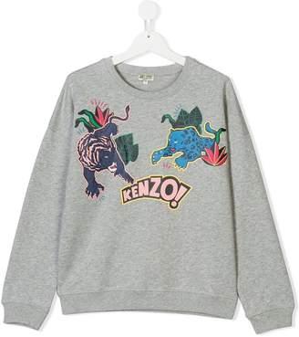 Kenzo TEEN graphic print sweatshirt
