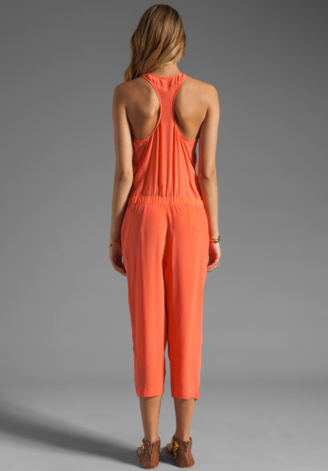 Plenty by Tracy Reese Soft Solids Cropped Jumpsuit
