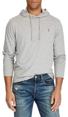 Polo Ralph Lauren Long-Sleeve Cotton Jersey Hooded Tee