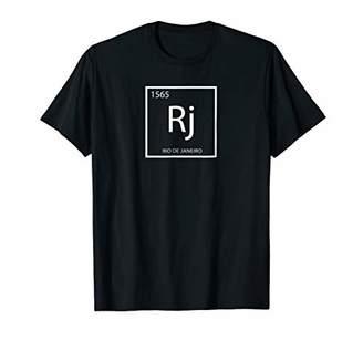 Rio De Janeiro Element T-Shirt - Periodic Table
