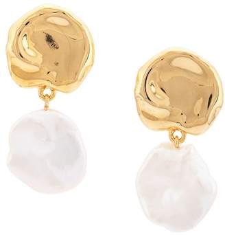 Lizzie Fortunato Coin Reflection earrings