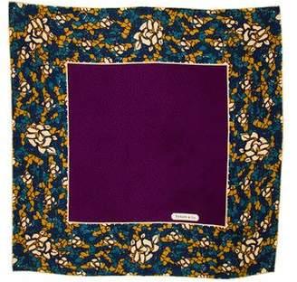 Tiffany & Co. Printed Silk Squared Scarf
