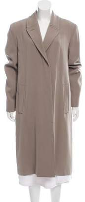 Calvin Klein Collection Long Wool Knit Coat