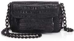 Nancy Gonzalez Mini Croc Crossbody Bag