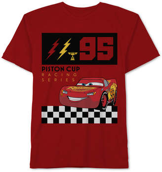 Disney Cars Toddler Boys Lightning McQueen Graphic Cotton T-Shirt