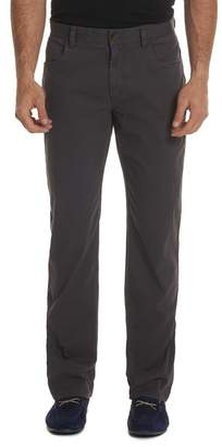 "Robert Graham Blue Line Classic Fit Woven Pants - 32"" Inseam"
