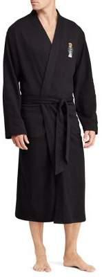 Ralph Lauren Polo Bear Fleece Kimono Robe