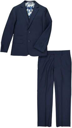 Isaac Mizrahi Solid Notch Lapel Suit