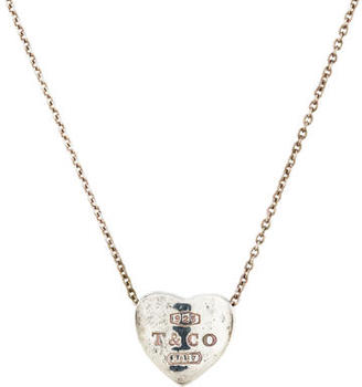 Tiffany & Co. 1837 Heart Charm Necklace $125 thestylecure.com