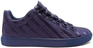 Balenciaga Arena logo-jacquard low-top trainers