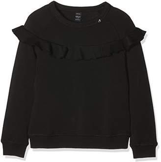 Replay Girl's SG2081.051.22406T Sweatshirt, (Black 098)
