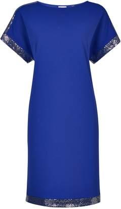 Dorothy Perkins Womens **Tall Cobalt Embellished Shift Dress