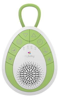 HoMedics® MyBaby SoundSpa On-The-Go Sound Machine in Green $9.99 thestylecure.com