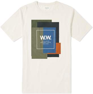 Wood Wood Quilt Tee