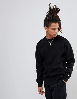 Carhartt WIP Chase Sweatshirt In Black