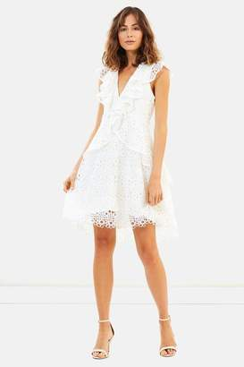 Elliatt Ruffle Eyelet Dress