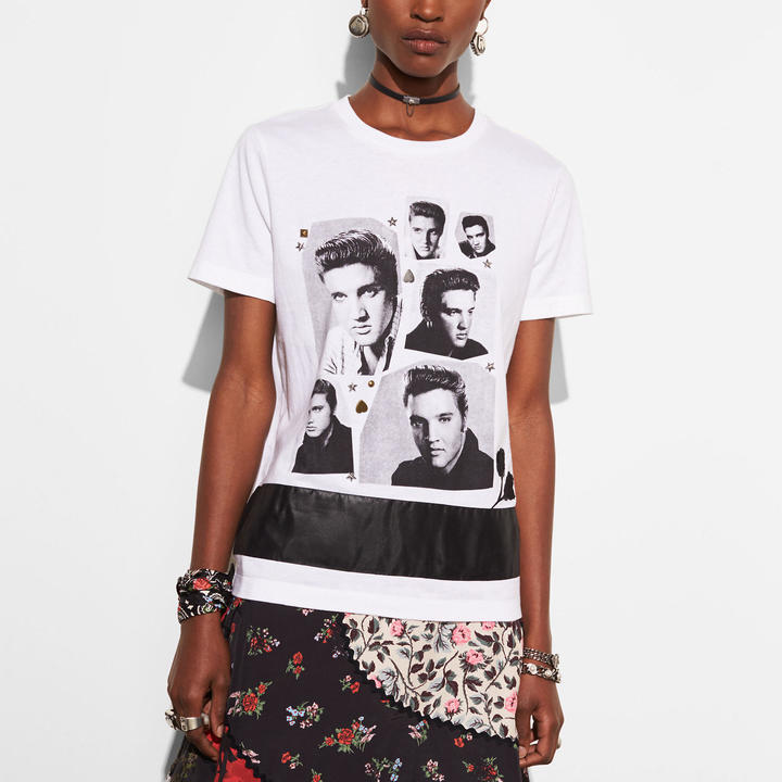 Coach   COACH Coach Elvis Collage T-shirt