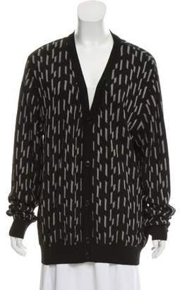 Versace Virgin Wool-Blend Cardigan