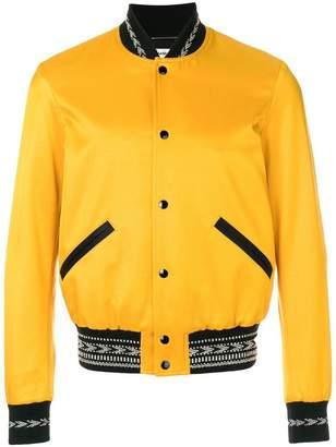 Saint Laurent Varsity bomber jacket