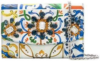 Dolce & Gabbana Maioliche clutch bag